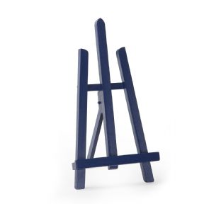 "Navy Blue Colour Easel Essex 16"" - Beech Wood"
